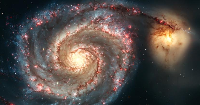 きれいな銀河